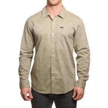 Brixton Brixton Charter Long Sleeve Shirt Sage
