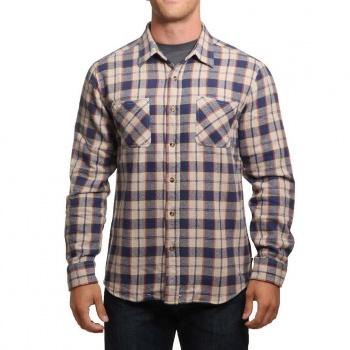 Brixton Brixton Hoffman Flannel Shirt Blue/Grey