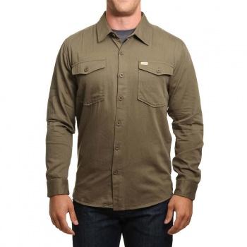 Captain Fin Co Captain Fin Si Senior Shirt Olive