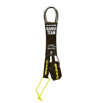 DaKine DAKINE KAINUI TEAM 1/4 SURFBOARD LEASH BLACK/ CLEAR