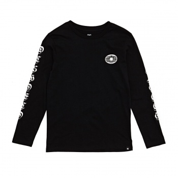 DC DC ARISE COLLECTIVE B LONG SLEEVE T-SHIRT BLACK