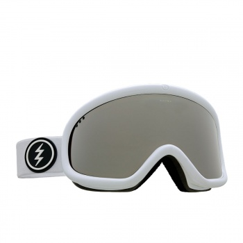 Electric ELECTRIC CHARGER SNOW GOGGLES. GLOSS WHITE BROSE/SILVER CHROME