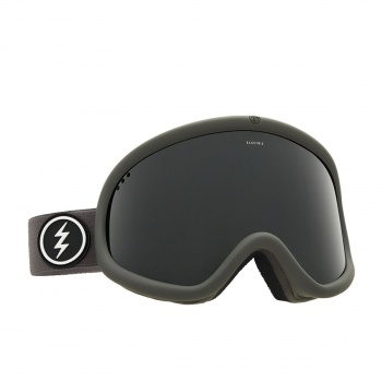 Electric ELECTRIC CHARGER XL SNOW GOGGLES. GREY/RED JET BLACK