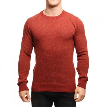 Element Element Kayden Knitted Crew Rio Red