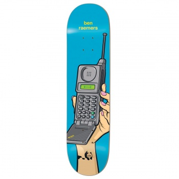 Enjoi ENJOI INSTANT MESSAGES IMPACT LIGHT. BEN RAEMERS SKATEBOARD DECK 8 INCH