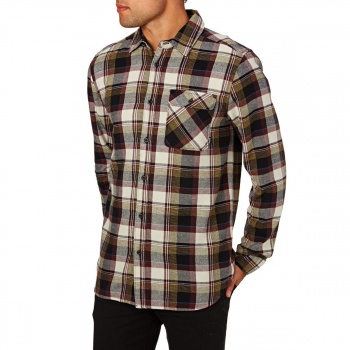 Etnies ETNIES AXEL LONG SLEEVE FLANNEL SHIRT NATURAL