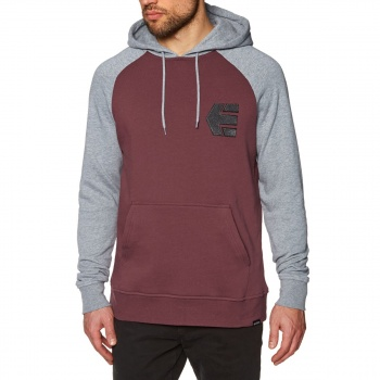Etnies ETNIES BREAKERS PULLOVER HOODY GREY/HEATHER