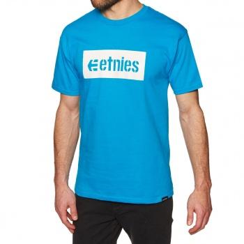 Etnies ETNIES CORP BOX T-SHIRT TURQUOISE