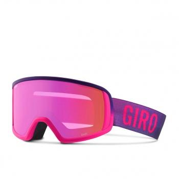 Giro GIRO GAZE SNOW GOGGLES. BRIGHT PINK FADED AMBER PINK