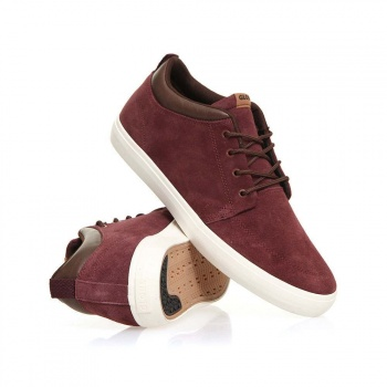 Globe Globe Chukka Mid Top Shoes Rum Raisin/Choc
