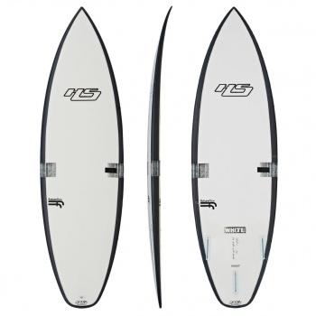 Hayden Shapes HAYDEN SHAPES WHITE NOIZ FF SURFBOARD CLEAR
