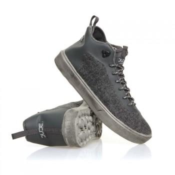 Dude Hey Dude Auris Shoes Charcoal Wool