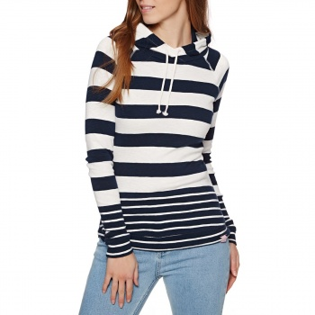 Joules JOULES MARLSTON HOODIE FRENCH NAVY STRIPE