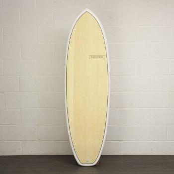 Modern Modern Highline Bamboo Fish Surfboard Blue 6Ft 8