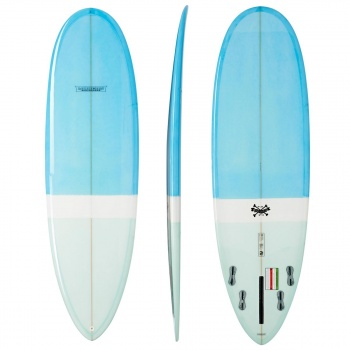 Modern MODERN LOVE CHILD PU SURFBOARD BLUE