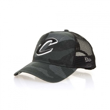 New Era New Era Cleveland Cavaliers Trucker Washed Camo