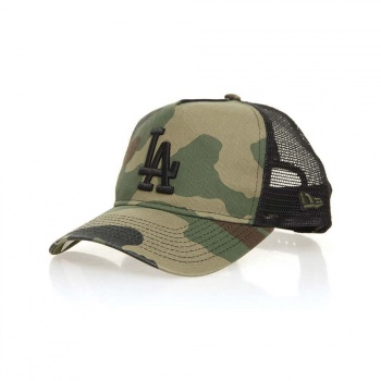 New Era New Era Los Angeles Dodgers Trucker Washed Camo