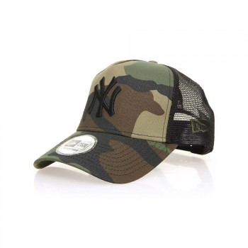 New Era New Era New York Yankees Team Trucker Cap Camo