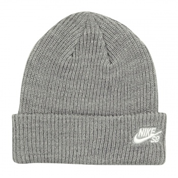 Nike Skateboarding NIKE SKATEBOARDING SB FISHERMAN BEANIE  DK GREY HEATHER/(WHITE)