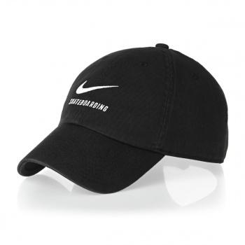 Nike Skateboarding NIKE SKATEBOARDING SB H86 TWILL CAP  BLACK/BLACK/WHITE