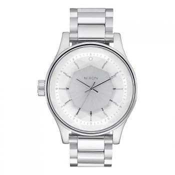 Nixon Nixon The Facet Watch All Silver