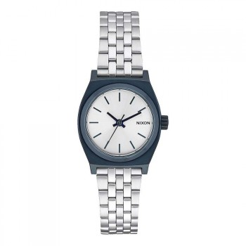 Nixon Nixon The Small Time Teller Watch Navy/Silver