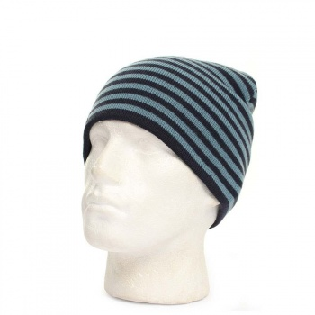 Old Guys Rule Old Guys Rule Striped Beanie Navy/Blue