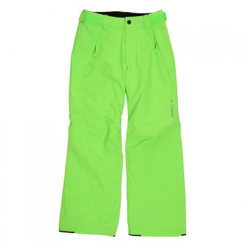 O'Neill ONeill Boys Anvil Snow Pants Fluor Green