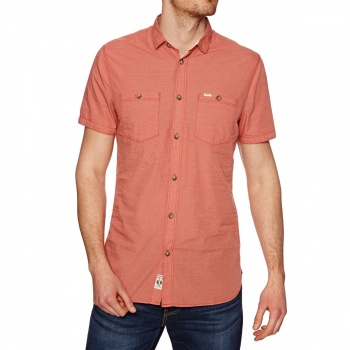 O'Neill O'NEILL CUT BACK SHORT SLEEVE SHIRT 3077 AURORA RED