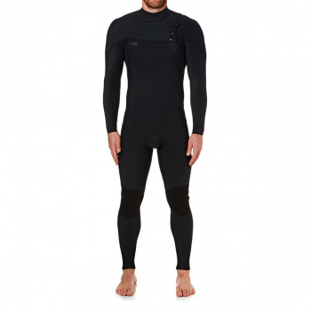 O'Neill O'NEILL HYPERFREAK 5/4MM 2018 CHEST ZIP WETSUIT BLACK/ BLACK