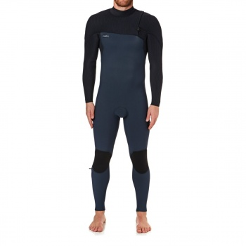 O'Neill O'NEILL HYPERFREAK COMP 4/3MM 2018 ZIPPERLESS WETSUIT SLATE/ BLACK
