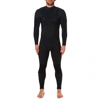 O'Neill O'NEILL HYPERFREAK COMP 5/4MM 2018 ZIPPERLESS WETSUIT BLACK/ BLACK