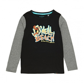 O'Neill O'NEILL LB LAID BACK LONG SLEEVE T-SHIRT BLACK OUT