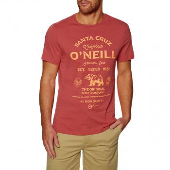 O'Neill O'NEILL MUIR T-SHIRT HOLLY BERRY