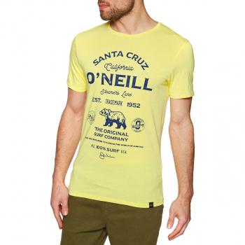 O'Neill O'NEILL MUIR T-SHIRT LEMON SORBET