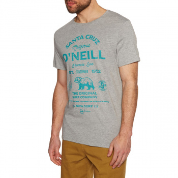 O'Neill O'NEILL MUIR T-SHIRT SILVER MELEE