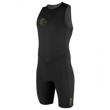 O'Neill O'NEILL O'RIGINAL 2MM BACK ZIP SHORT JOHN WETSUIT BLACK/ BLACK