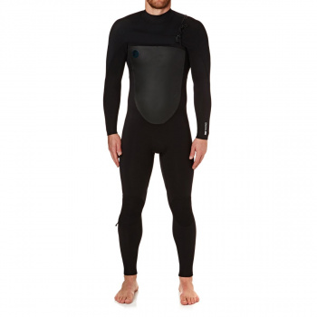 O'Neill O'NEILL O'RIGINAL 4/3MM 2018 CHEST ZIP WETSUIT BLACK/ BLACK