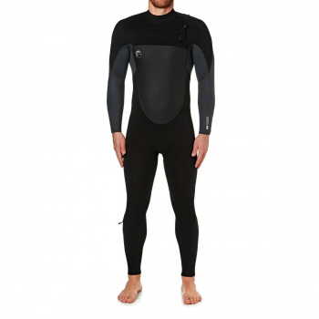 O'Neill O'NEILL O'RIGINAL 4/3MM 2018 CHEST ZIP WETSUIT BLACK/ GRAPHITE PINLINE