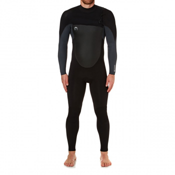 O'Neill O'NEILL O'RIGINAL 5/4MM 2018 CHEST ZIP WETSUIT BLACK/ GRAPHITE PINLINE
