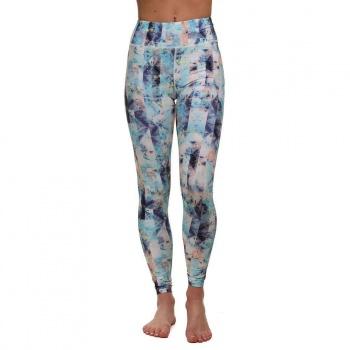 O'Neill ONeill Print High Rise Leggings Blue/Pink/Purple