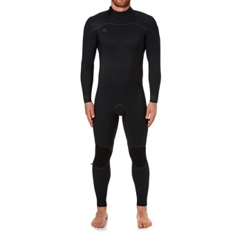 O'Neill O'NEILL PSYCHO ONE 4/3MM 2018 BACK ZIP WETSUIT BLACK/ BLACK