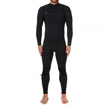 O'Neill O'NEILL PSYCHO ONE 4/3MM 2018 CHEST ZIP WETSUIT BLACK/ BLACK