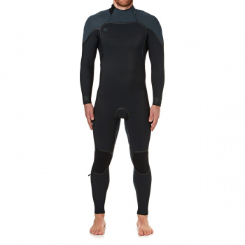 O'Neill O'NEILL PSYCHO ONE 5/4MM 2018 BACK ZIP WETSUIT BLACK/ SLATE