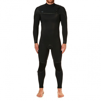 O'Neill O'NEILL PSYCHO ONE 5/4MM 2018 CHEST ZIP WETSUIT BLACK/ BLACK