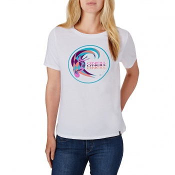 O'Neill O'NEILL RE-ISSUE LOGO T-SHIRT  SUPER WHITE