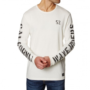 O'Neill O'NEILL STATEMENT LONG SLEEVE T-SHIRT POWDER WHITE