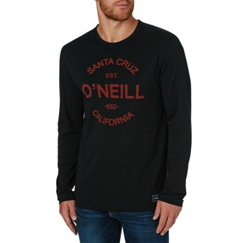 O'Neill O'NEILL TYPE LONG SLEEVE T-SHIRT  BLACK OUT
