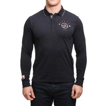Oxbow Oxbow Paco L/S Polo Shirt Noir