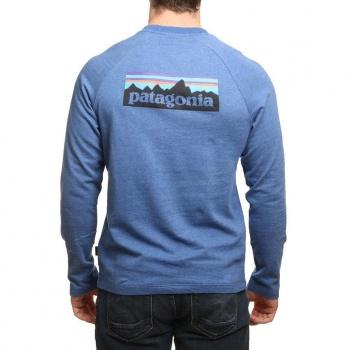 Patagonia Patagonia P6 Logo Lightweight Crew Superior Blue